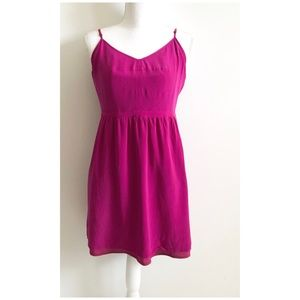 Madewell Silk Cami Dress Size 12 Purple